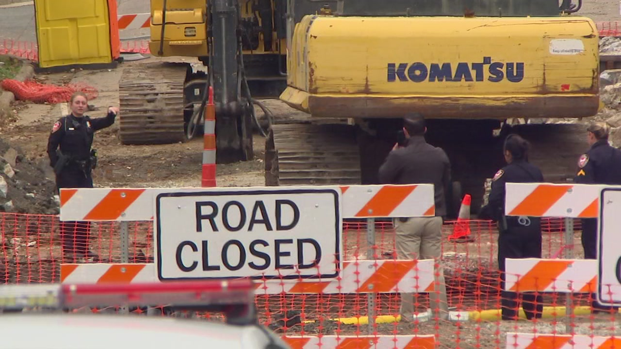 Authorities are investigating after a mans body was found at a construction site in Durham.
