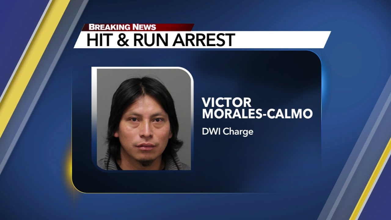 Raleigh police charged Victor Morales-Calmo with DWI after he crashed his vehicle in the Oakwood section of Raleigh just before midnight.