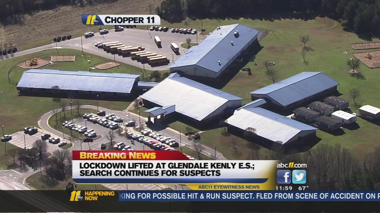 Lockdown lifted at Johnston County school