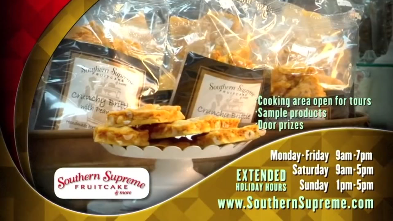 Visit Southern Supreme during their holiday extended hours