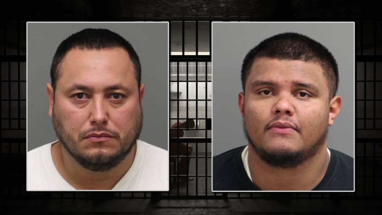Two Charlotte men have been arrested and charged after authorities seized over 24 pounds of meth from them.