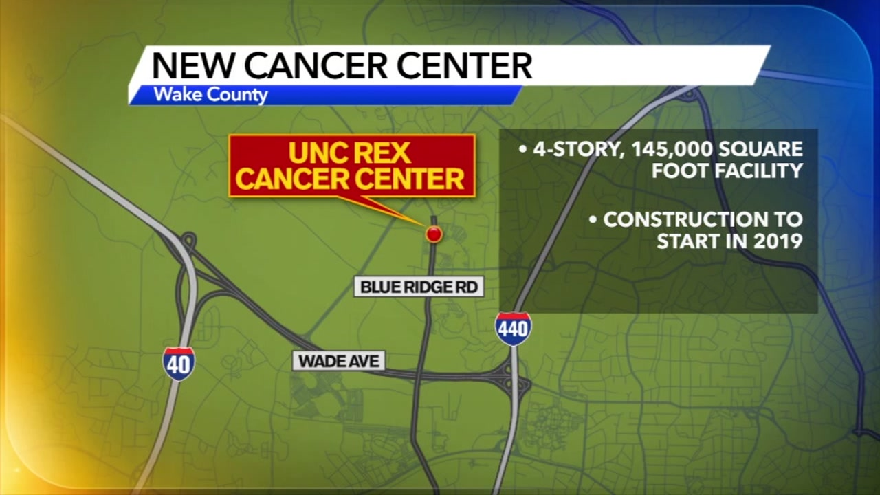 A new cancer center is coming to the Triangle.