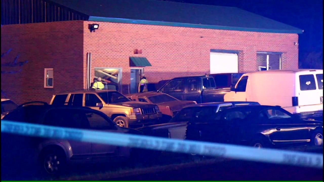 Man killed in Sanford explosion.