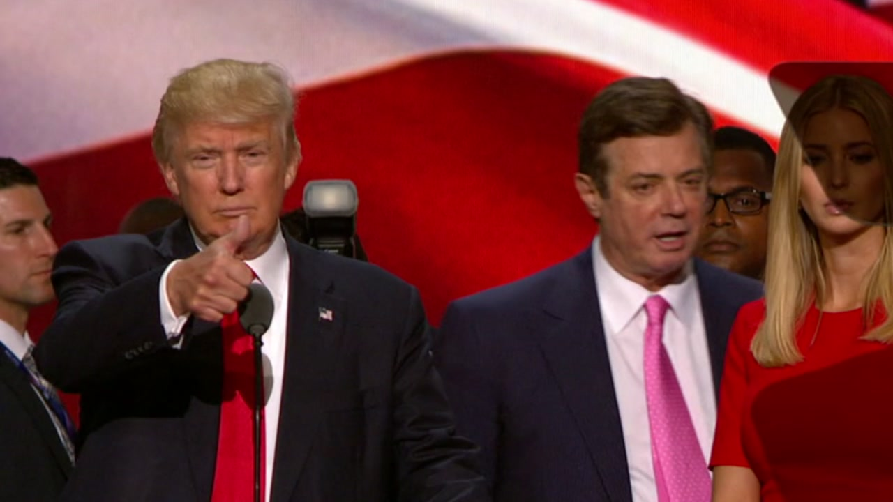A pardon for Paul Manafort is not off the table, President Donald Trump said.