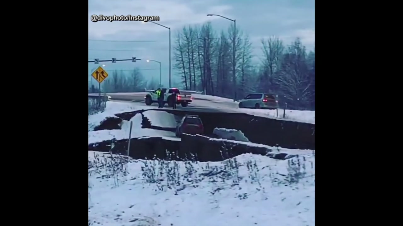 Kristen Arnold was pulling out of her driveway in Anchorage on Friday to head to work when everything shook.