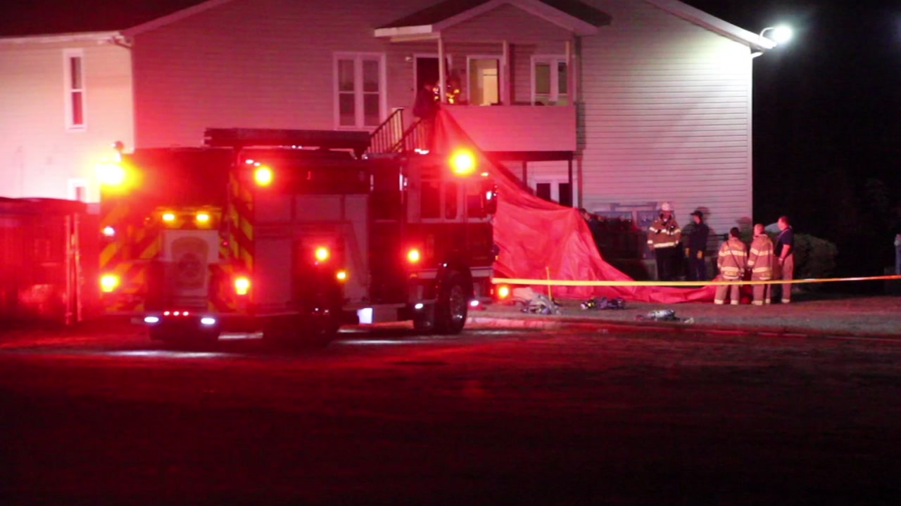 One person is dead after an apartment in Fayetteville caught on fire on Friday morning.