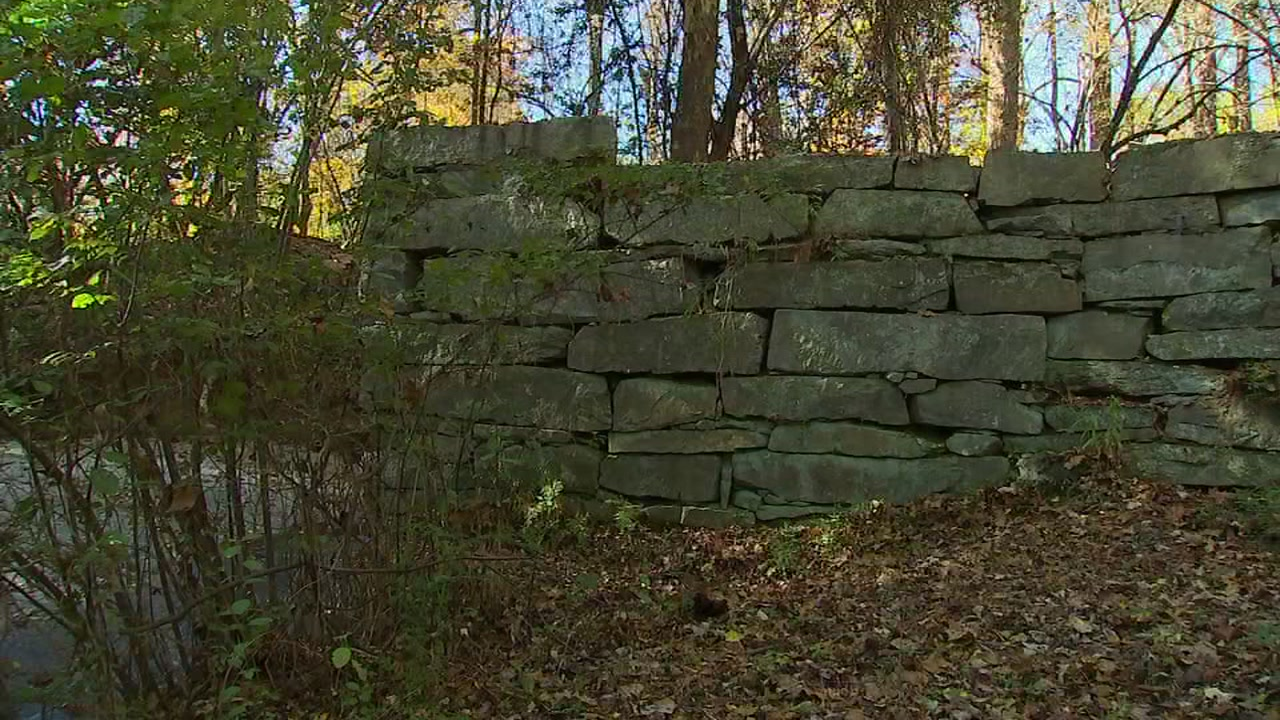 Up-close look at the hidden dam of Raleigh