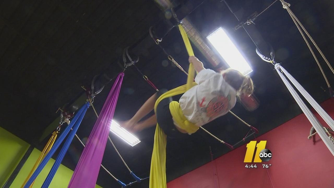 Circus studio taps new fitness trend