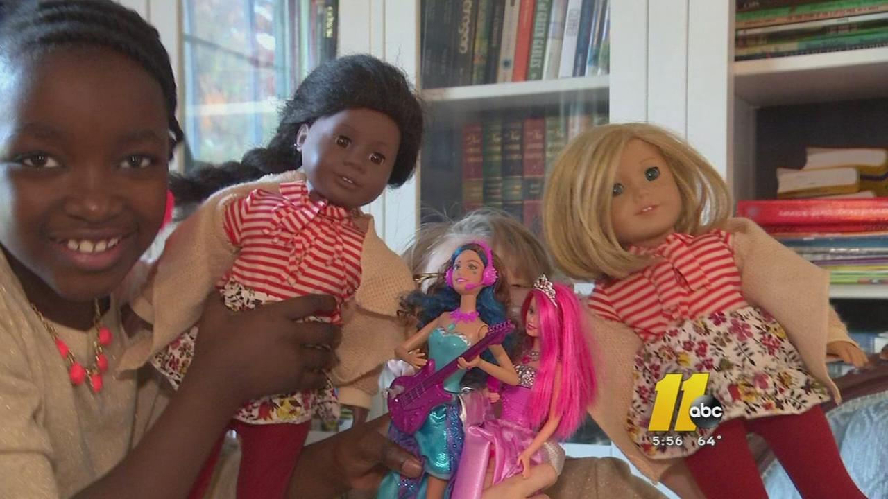 NC girls call for more diverse dolls