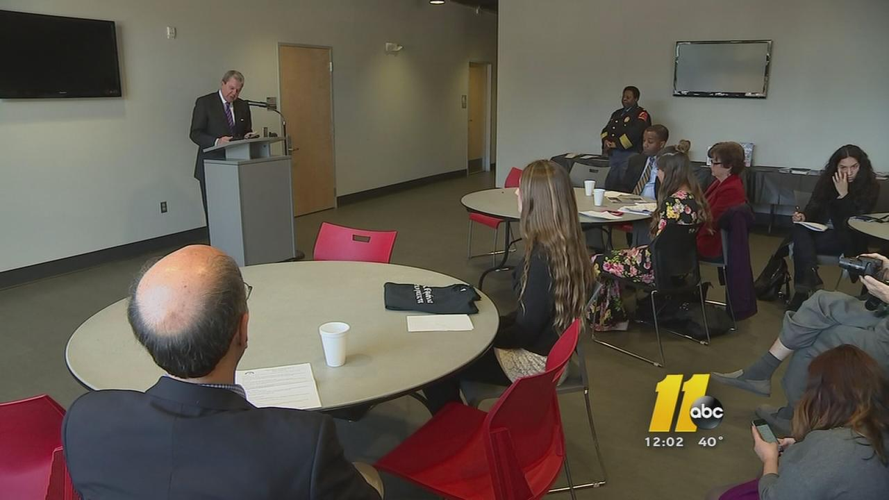 Those working to combat human trafficking in Triangle, recognized