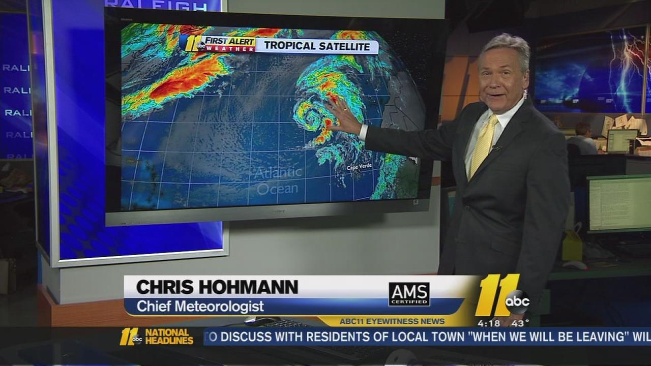 Subtropical storm forms