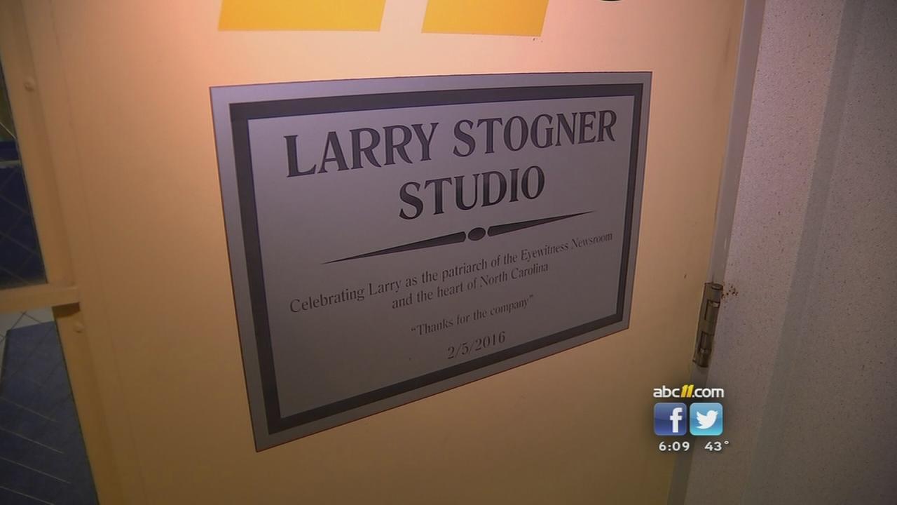 Studio named for Larry Stogner