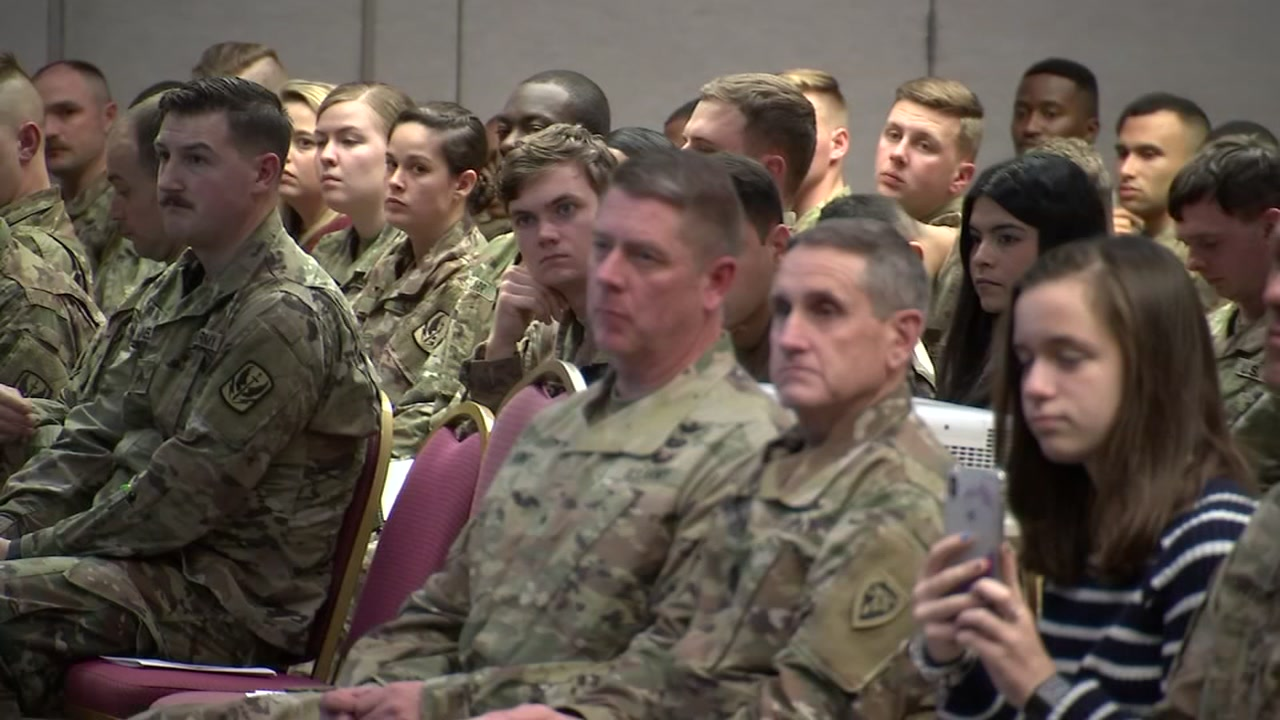 Army National Guard troops return home to emotional reunions