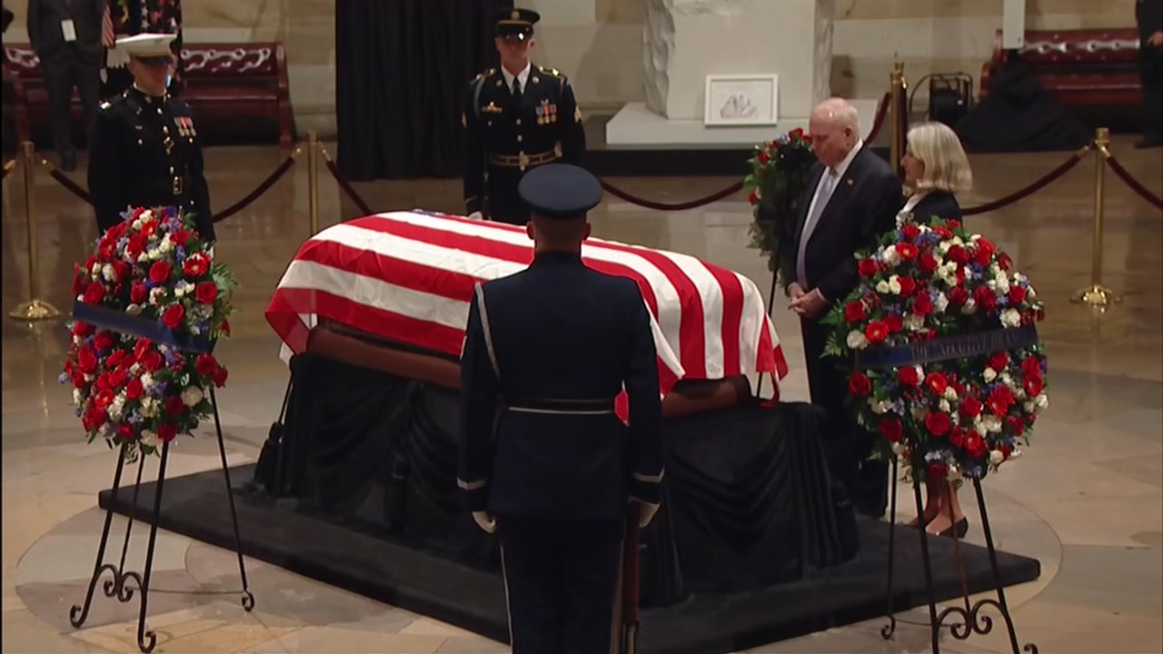 President George H.W. Bush will lie in state in Washington D.C. with a public visitation in Houston, before arriving at his final resting place in College Station.
