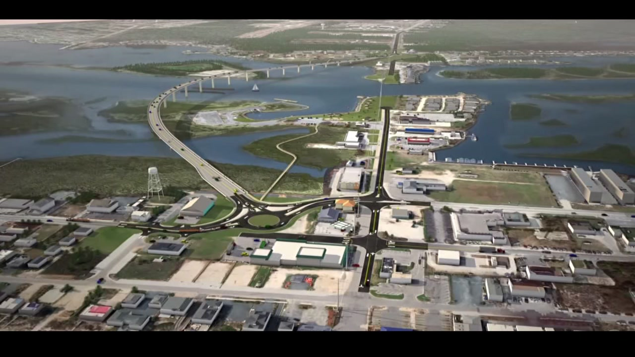 First look at what the new Topsail Island bridge will look like