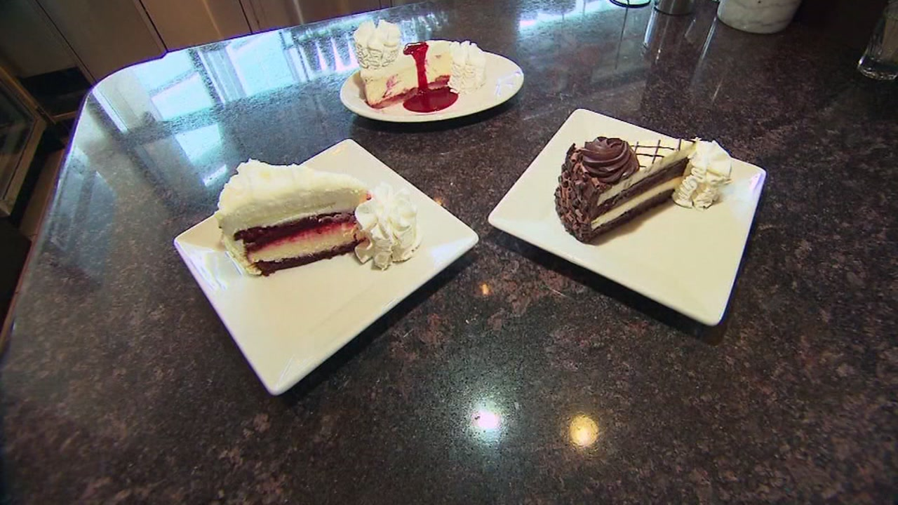 The Cheesecake Factory is giving away 40,000 slices of free cheesecake starting on Wednesday!