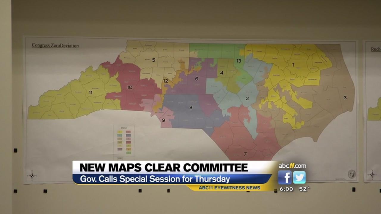 New maps