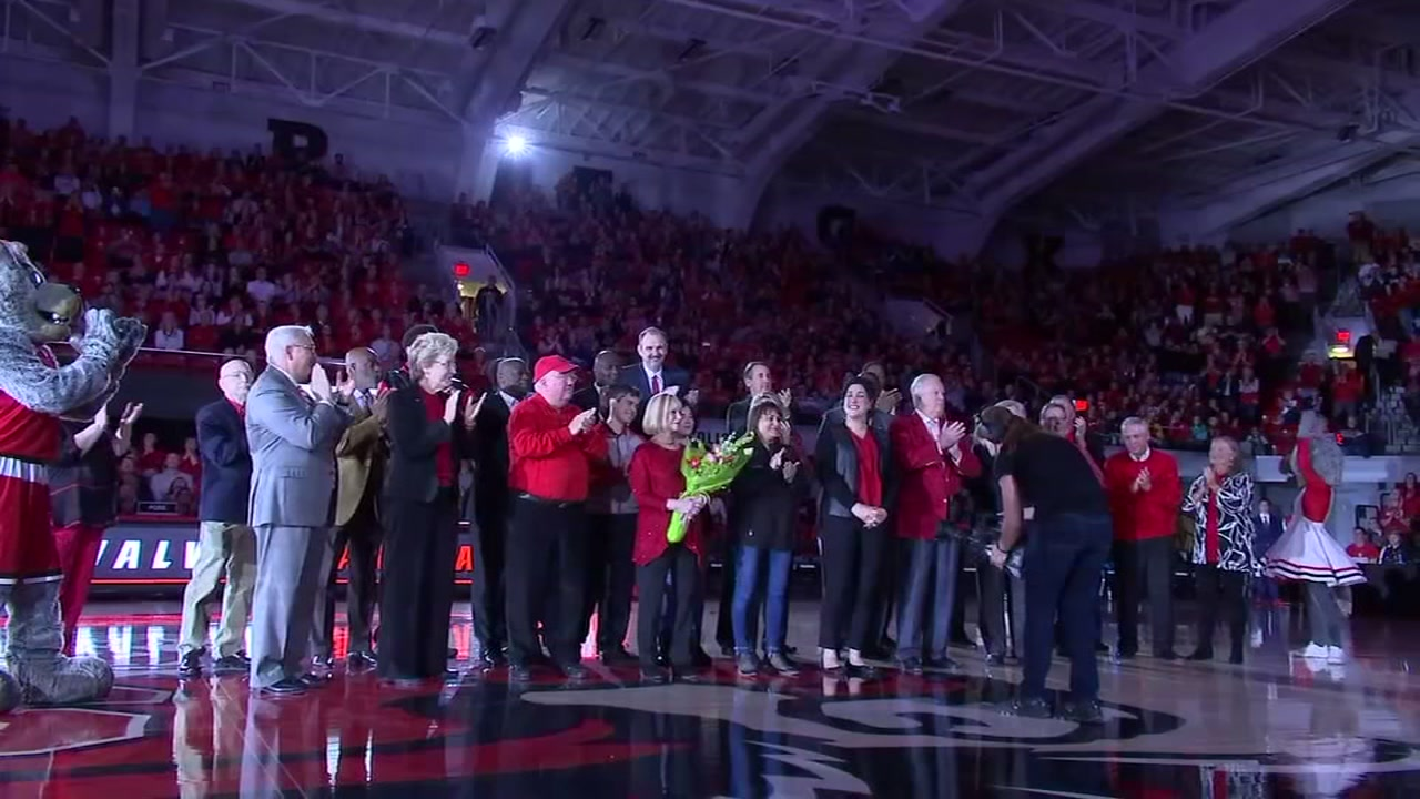 NC State renamed the arena inside Reynolds Coliseum for Jimmy V, then romped past Western Carolina.