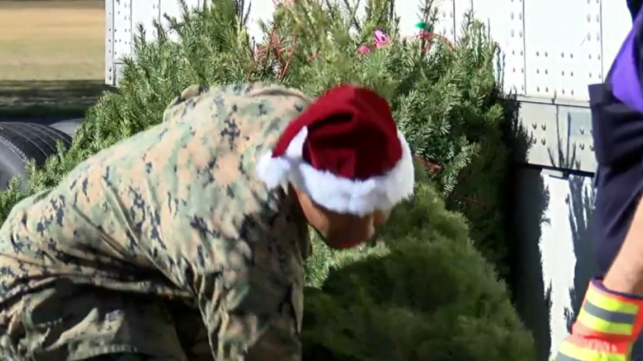 Christmas will be a lot brighter for family members of the military, and its all thanks to a U.S. Marine Corps special program.