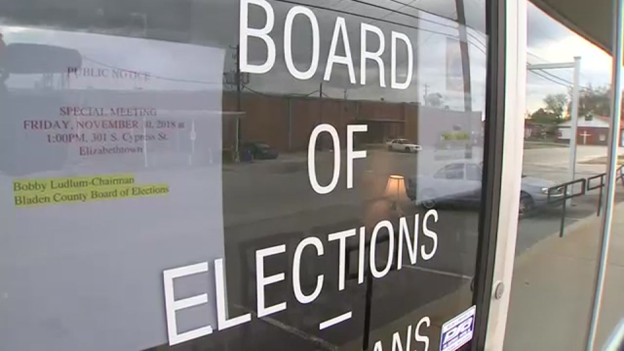 Officials investigate possible voter fraud in Bladen County
