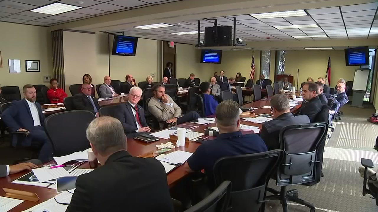 Members of the Governor Crime Commissions Special Committee on School Shootings met Thursday to discuss how to prevent and respond to school shootings.