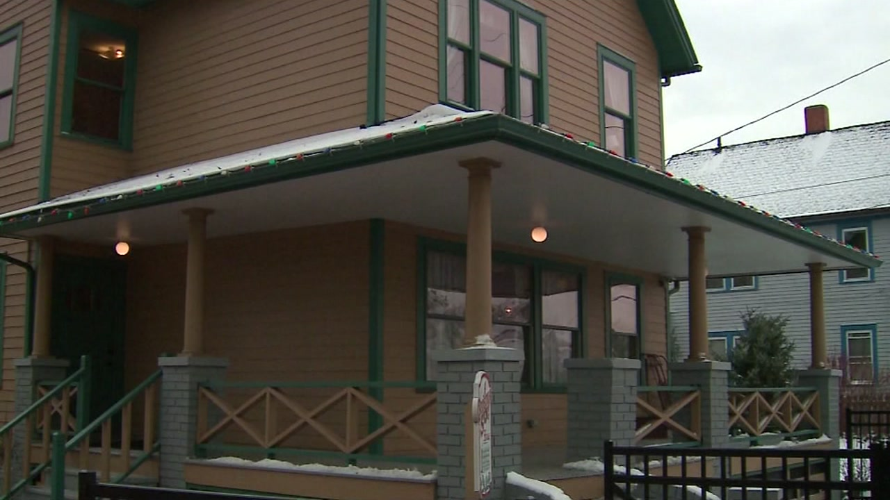 You can stay in the Christmas Story house - for a hefty price.