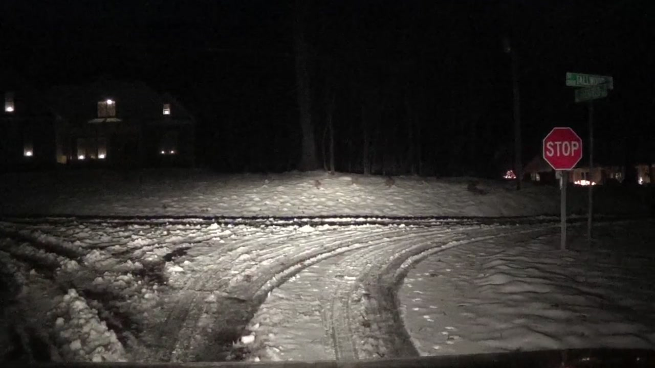 Officials are warning drivers to be careful this morning as road conditions could be hazardous.