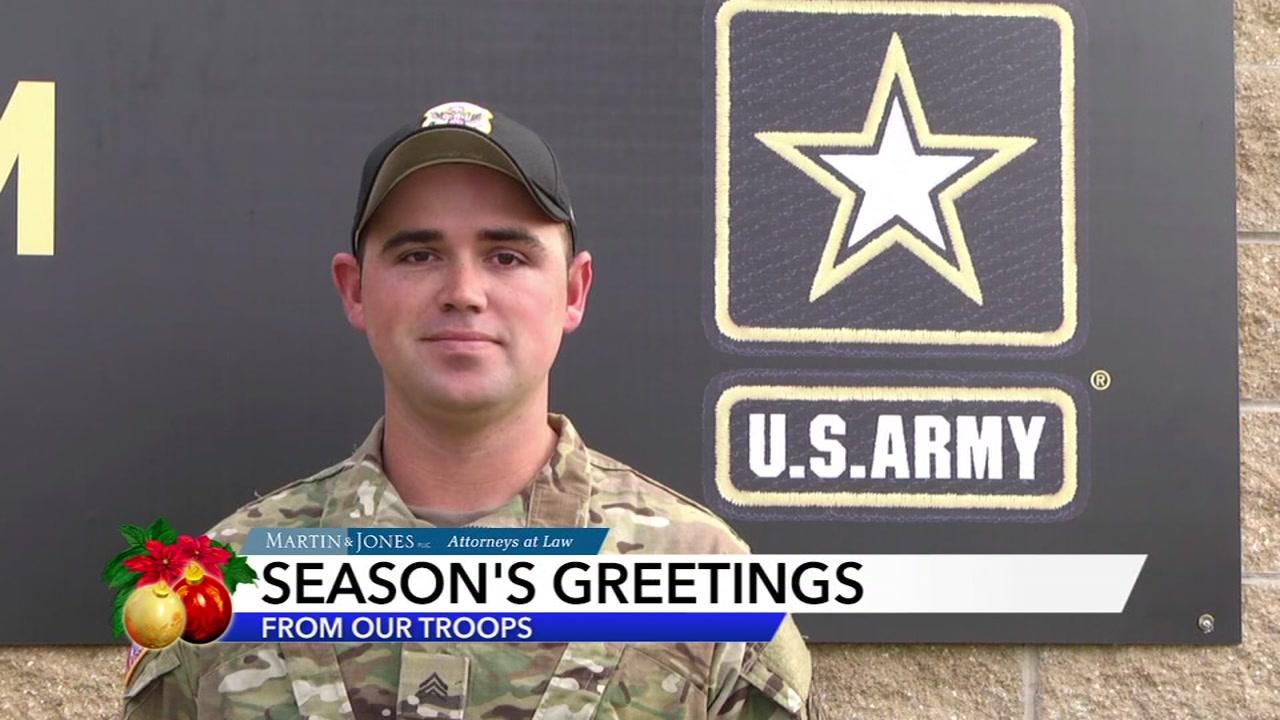 Seasons Greetings from Dustin Taylor