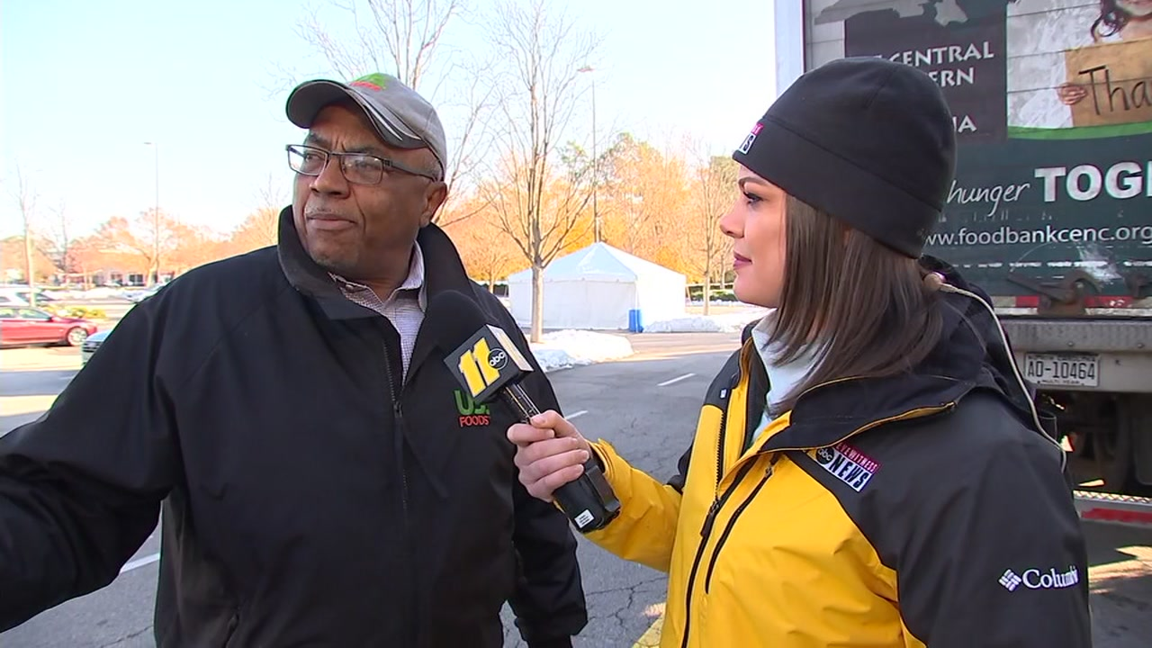 US Foods speaks about partnership with the ABC11 Together Food Drive