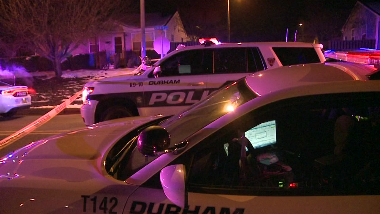 Police respond to two shootings in Durham.
