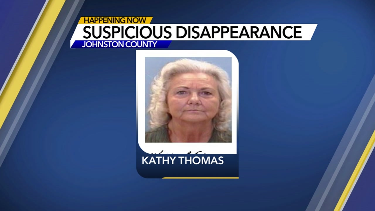 The Johnston County Sheriffs Office is asking the publics help finding 71-year-old Kathy Thomas.