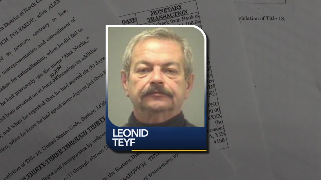 Leonid Teyf was indicted on dozens of federal counts, including a kickback scheme and murder plot.