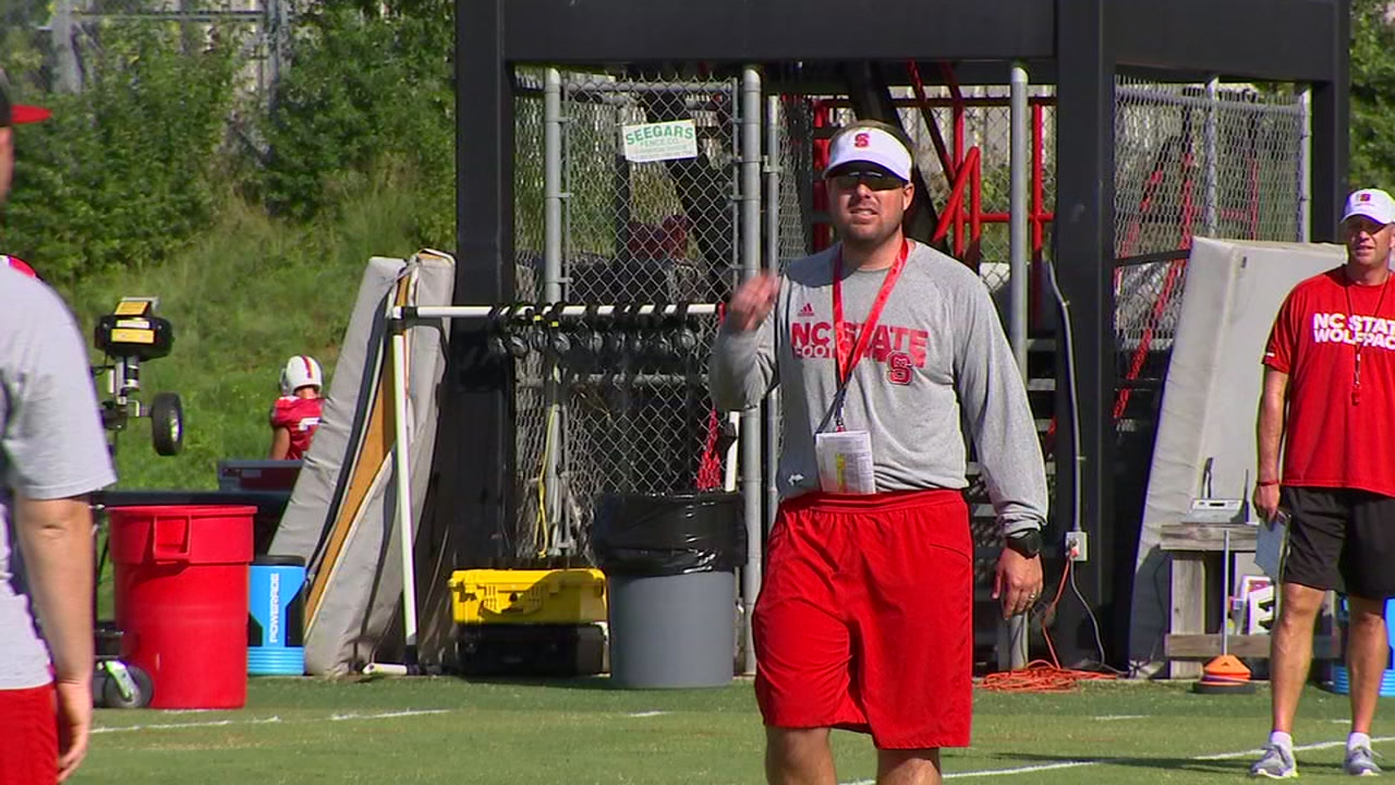 NCSU assistant Eli Drinkwitz named head coach at App State.