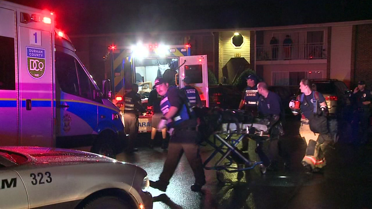 Multiple people shot at Durham apartment complex, police say