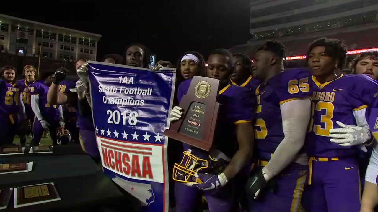 Tarboro wins 1AA state title, the schools sixth state championship.