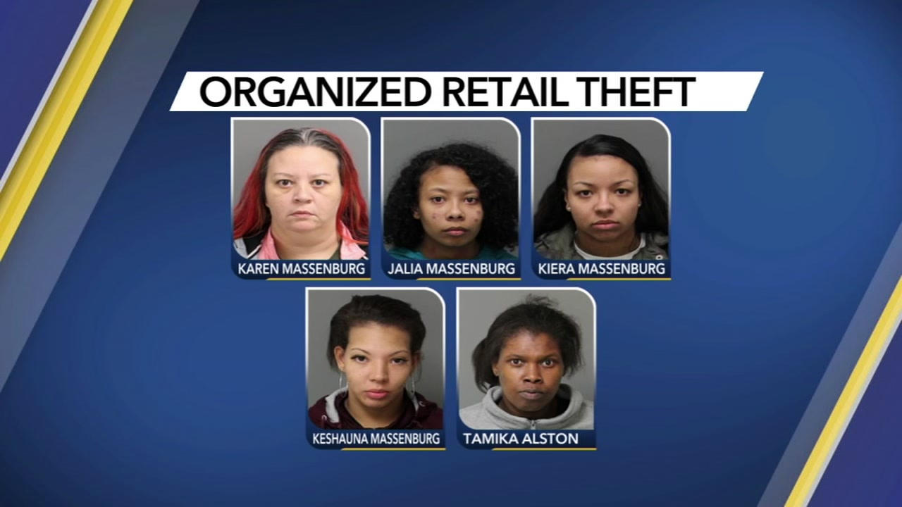 Raleigh police said one family made shoplifting a family affair -- and a profitable one. On Saturday, police served warrants on five females at Triangle Town Centers Belk store.