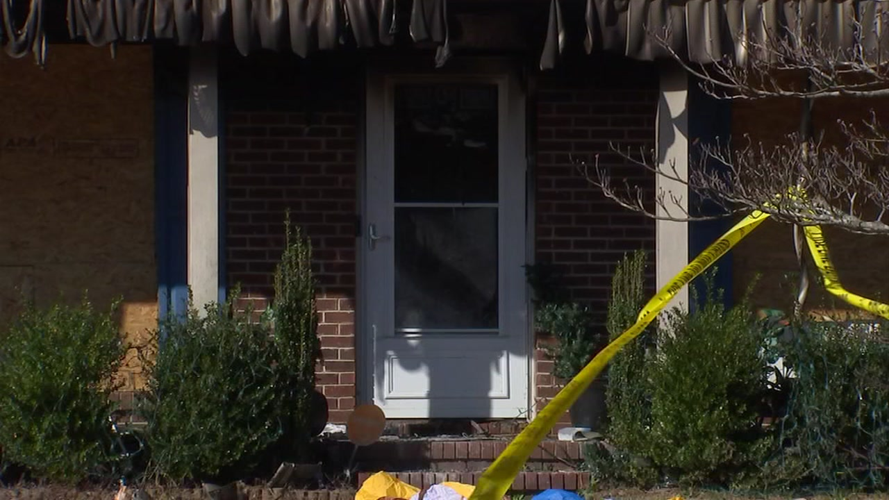 A Fayetteville family is homeless for the holidays after a blaze broke out in their house Monday morning on Shumont Drive.