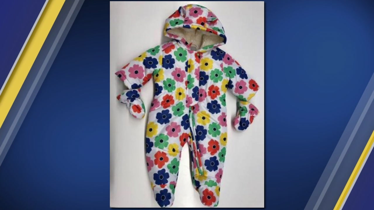 The Childrens Place recalled 15,000 snowsuits because they pose a choking hazard to children.
