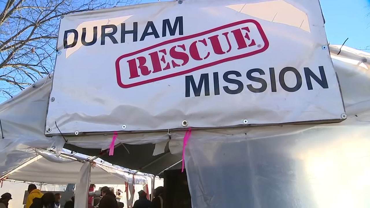 Durham Rescue Mission hosts giveaway to help families in need