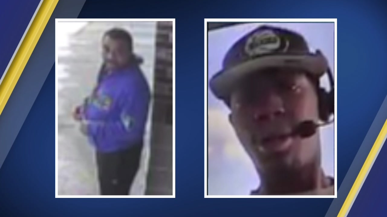Two Texas men were arrested in Oklahoma following the Friday robbery of the Sharonview Federal Credit Union.