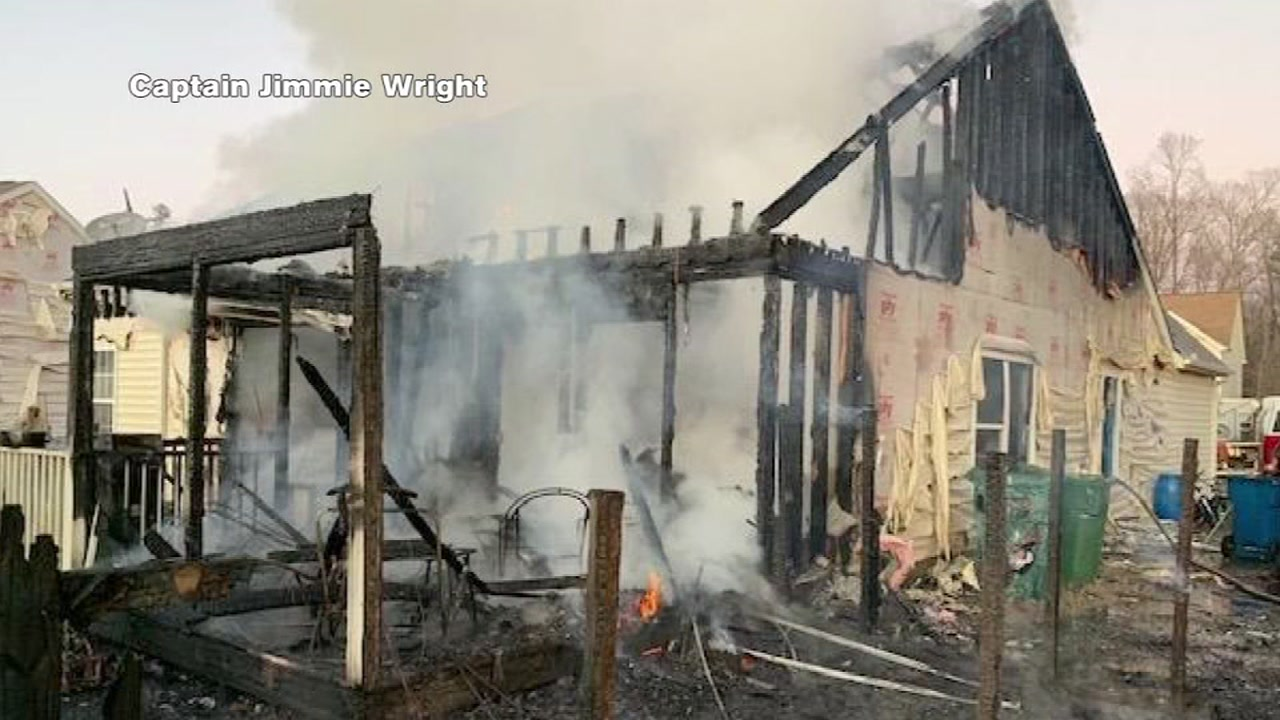 Durham family loses home, pets to fire -- and looters.