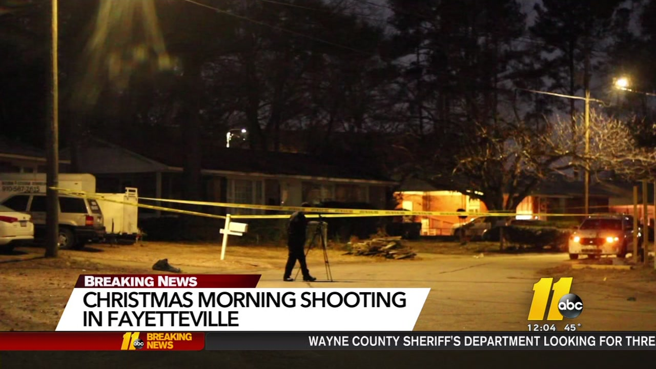 Christmas morning shooting in Fayetteville.