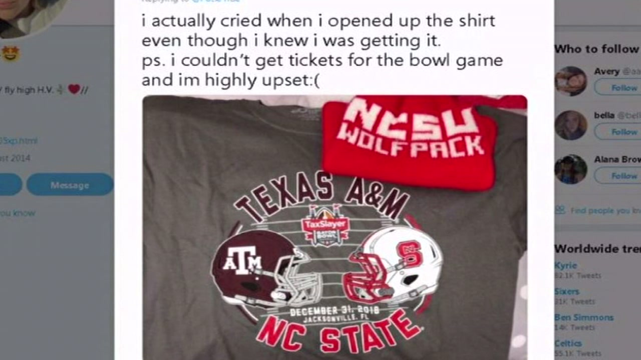NC States AD suprises fan with bowl game offer on social media