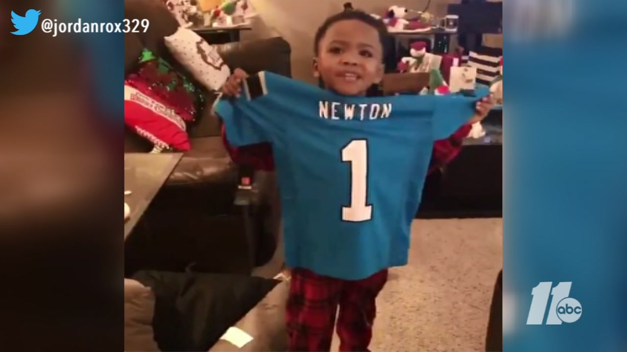 Cam Newton makes 6-year-olds Christmas wish come true