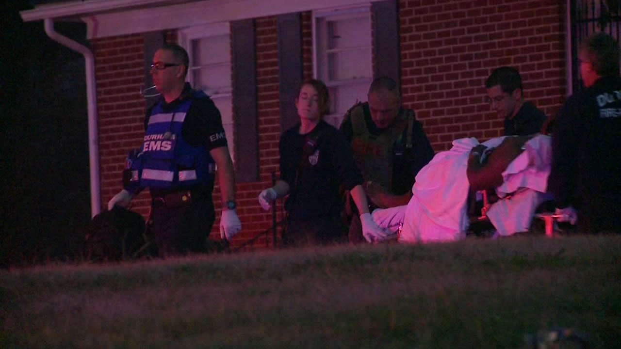 Police investigating after 2 men hurt in Durham drive-by shooting
