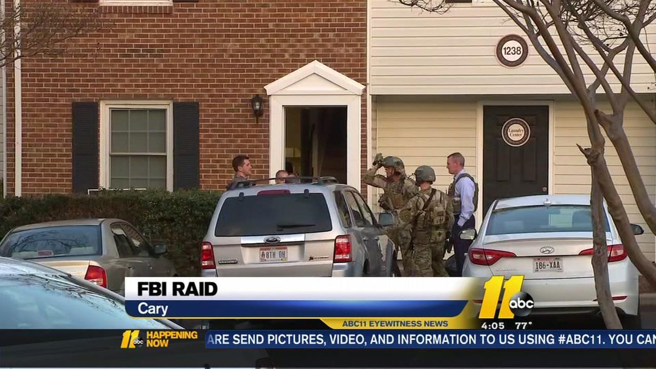 FBI raid in Cary