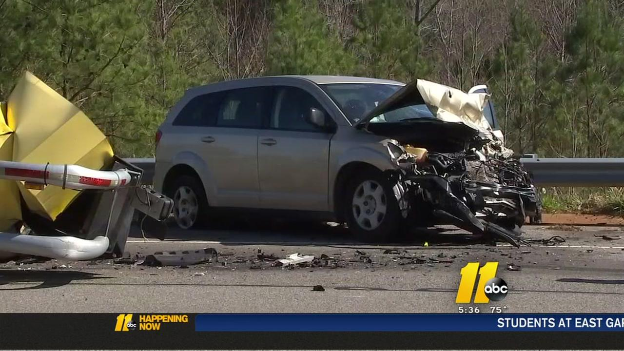 Safety device absorbs impact of crash