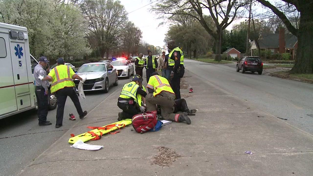 Pedestrian hit in Durham