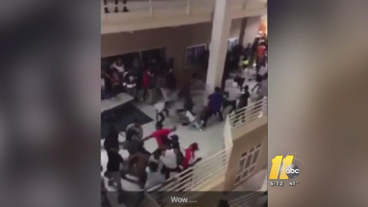 Fight at UNC Greensboro