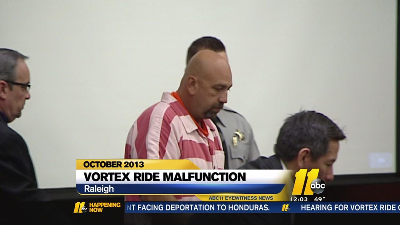 Sentencing for NC State Fair ride operator postponed